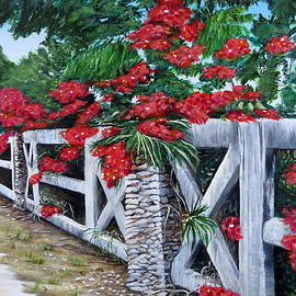 Marilyn McNish - Fence Line