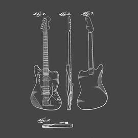 Fender Guitar Drawing Tee - Edward Fielding