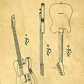 Fender Guitar Patent - Edward Fielding