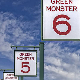 Susan Candelario - Fenway Park Green Monster Section Signs