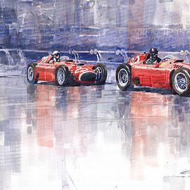 Yuriy  Shevchuk - Ferrari D50 Monaco GP 1956