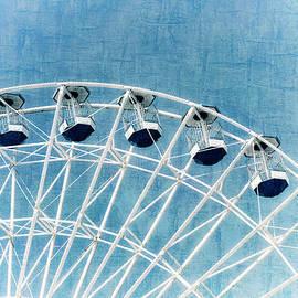 Marianne Campolongo - Ferris Wheel Series 1 Blue