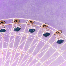 Marianne Campolongo - Ferris Wheel Series 1 Purple