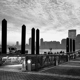 S R Shilling - Ferry Slip in Jersey City
