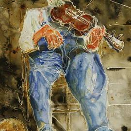 Shirley Sykes Bracken - Fiddler with One Shoe