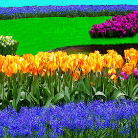 Bruce Nutting - Field of Fabulous Flourishing Flowers.