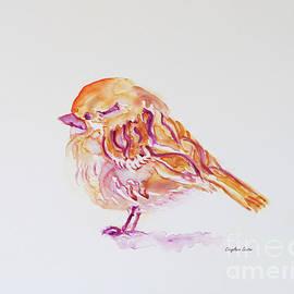 CheyAnne Sexton - Field Sparrow watercolor