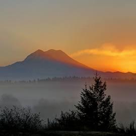 Peter Mooyman - Fiery Fall Sunrise