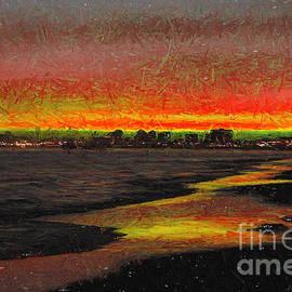 Mariola Bitner - Fiery Sunset