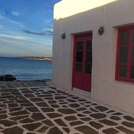 Colette V Hera  Guggenheim  - Fine Day Naoussa Paros Island Greece