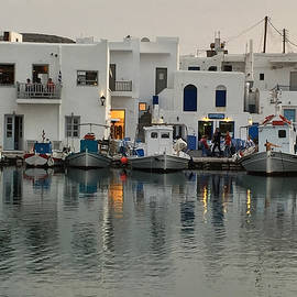 Colette V Hera  Guggenheim  - Fine Evening Naoussa Island