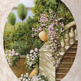 fiori sulle scale - Guido Borelli