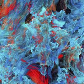 Andee Design - Fire And Water Abstract