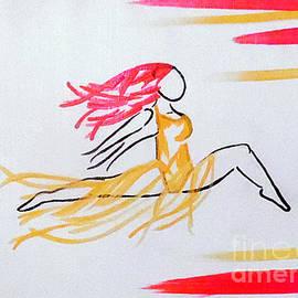 Jilian Cramb - AMothersFineArt - Fire Fly in Color