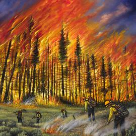 Fire Line 1 - Ricardo Chavez-Mendez