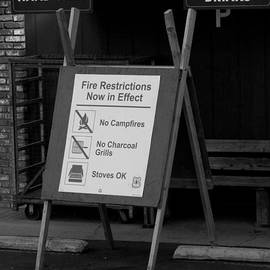 Leah McPhail - Fire Restrictions Now in Effect