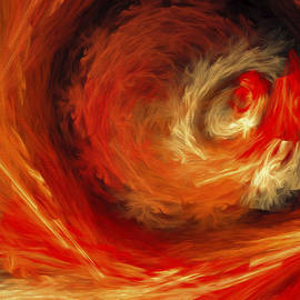 Andee Design - Fire Storm Abstract