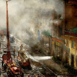 Fireman - New York NY - Big stink over ink 1915