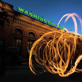 Steve Gadomski - FireSpinner Spokane WA