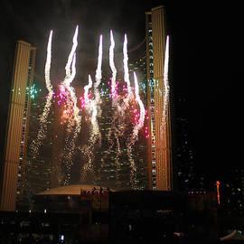 Nina Silver - Fireworks at Toronto City Hall