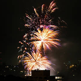 Miroslava Jurcik - Fireworks Lights Up Manly