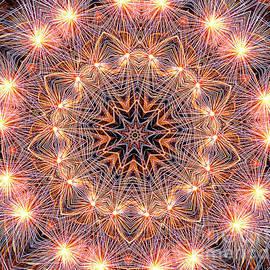 Fireworks Mandala by Kaye Menner