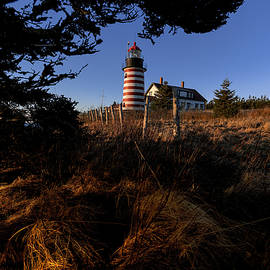 Marty Saccone - First Light At West Quoddy Head Lighthouse