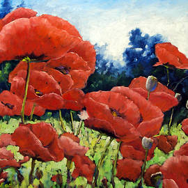 Richard T Pranke - First Of Poppies