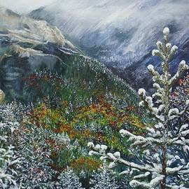 Cathy MONNIER - First snow