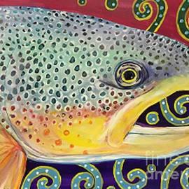 Maria Elena Gonzalez - Fish and doodles