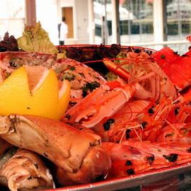 Laurel Talabere - Fish Delectables in a Bergen Street Market