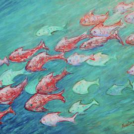 Xueling Zou - Fish in Abundance