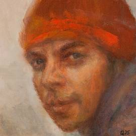 Quin Sweetman - Dreamer Impressionist Painting Portrait