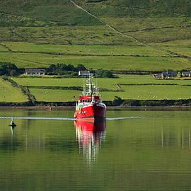 Fishing boat Dingle bay