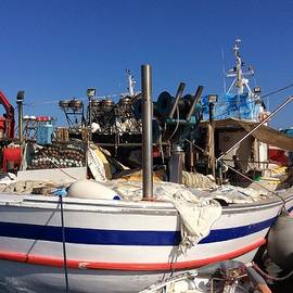Colette V Hera  Guggenheim  - Fishing Boat Naoussa Paros Island