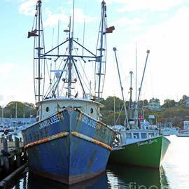Steve Gass - Fishing Boats at Dock