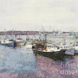 Marcia Lee Jones - Fishing Boats Of Portsmouth NH