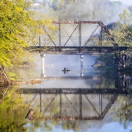 Debra and Dave Vanderlaan - Fishing Under the Trestle