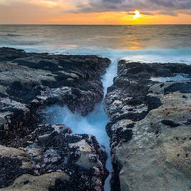 Robert Bynum - Fissure Sunset