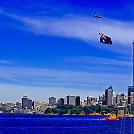 Miroslava Jurcik - Flags Flying Over Sydney