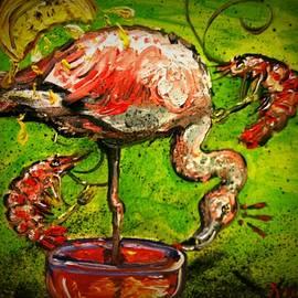 Alexandria Weaselwise Busen - Flamingo Cocktail