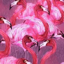 Barbara Chichester - Flamingo Art