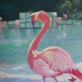 Julie Todd-Cundiff - Flamingo