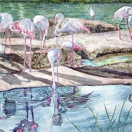 Vicky Lilla - Flamingos II