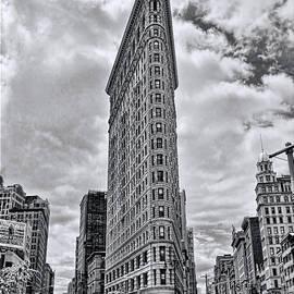 Allen Beatty - Flatiron Building B and W