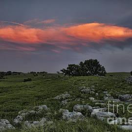 Crystal Nederman - Flinthills Sunset