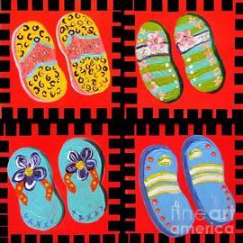 Eloise Schneider - Flip Flops Times Four