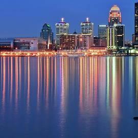 Frozen in Time Fine Art Photography - Floating Log Louisville Lights,