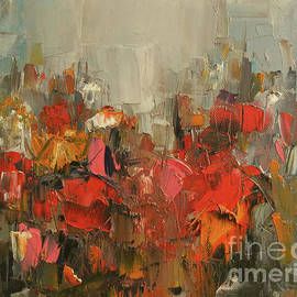 Ana Dawani - Floral abstract No.4