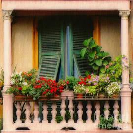 Sue Melvin - Floral Balcony